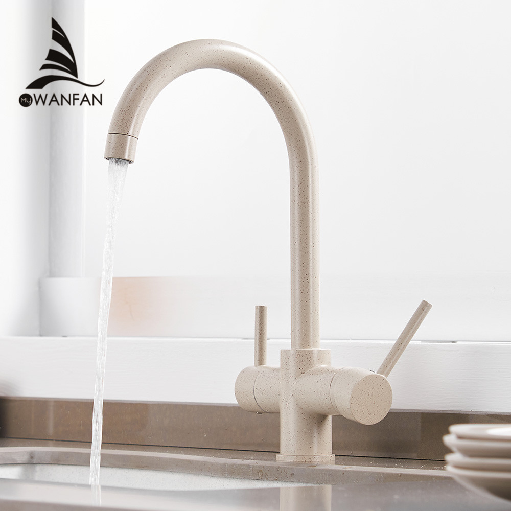 Kitchen Faucets Waterfilter Taps Kitchen Faucets Mixer Drinking Water Filter Faucet Kitchen Sink Tap Water Tap WF-0180 newly arrived pull out kitchen faucet gold sink mixer tap 360 degree rotation torneira cozinha mixer taps kitchen tap
