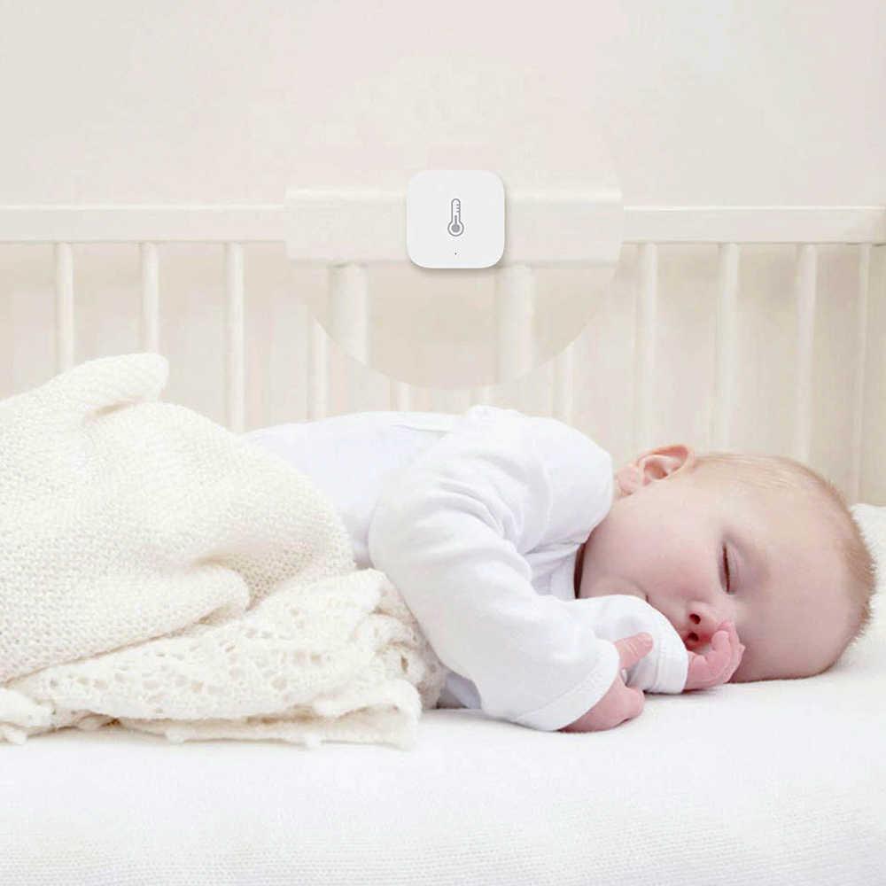 Aqara sıcaklık nem sensörü çevre hava basıncı akıllı ev Zigbee kablosuz kontrol akıllı ev ağ geçidi