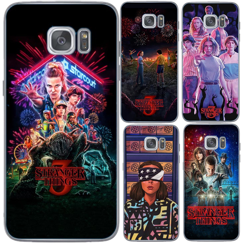 Stranger things season 3 poster Cover Phone Case Shell Soft Silicone For Samsung Galaxy S6 S7 Edge S8 S9 S10 Plus S10 S10E Lite(China)