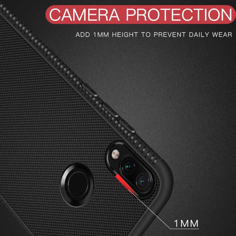 Ultra Tipis Case untuk Xiao Mi Merah Mi Note 7 PRO 5 6 Pro 6A 5 Mi A2 Lite disipasi Panas Kasus Silikon Penutup Belakang
