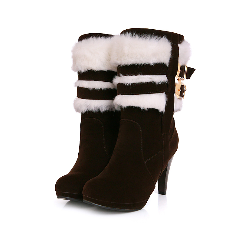 Ladies Brown Shoes Heels