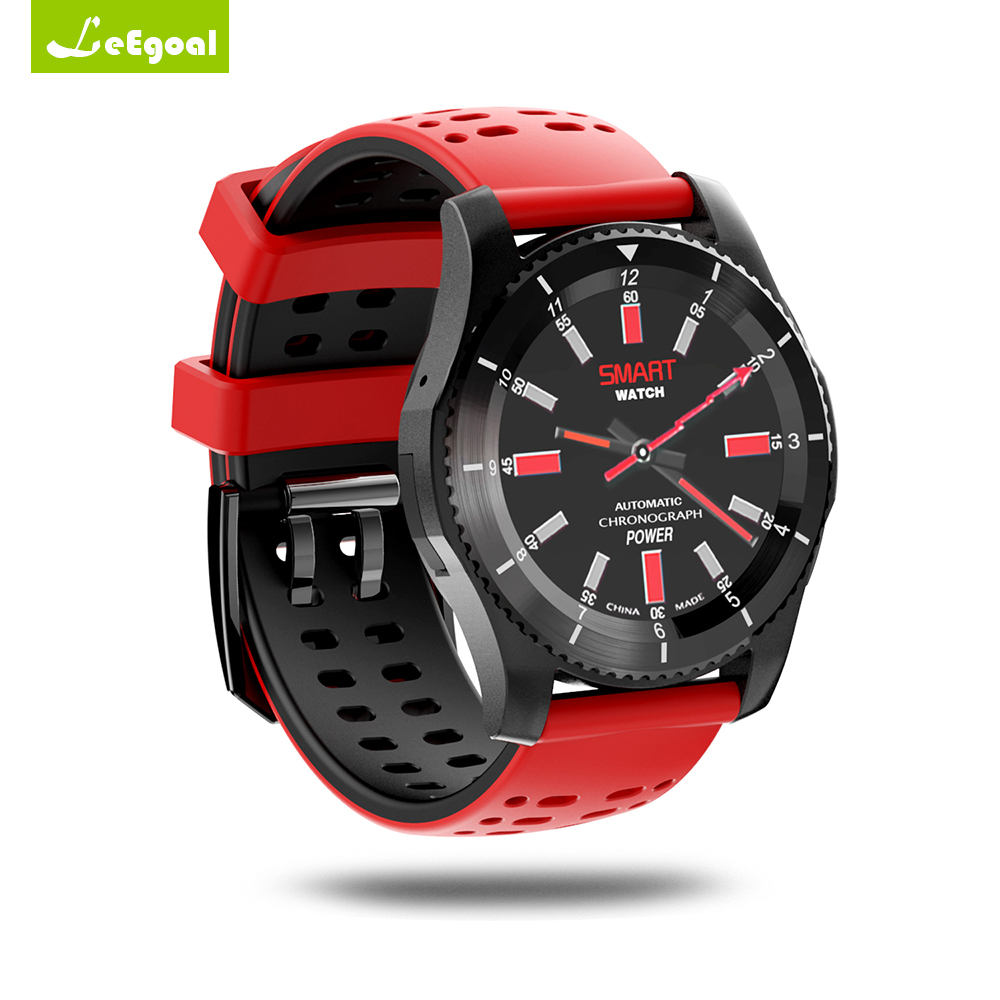 Leegoal GS8 Smartwatch Sport Bluetooth Smart Watch Blood Pressure Heart Rate Monitor Sim Card Mobile Watch Phone for IOS Android
