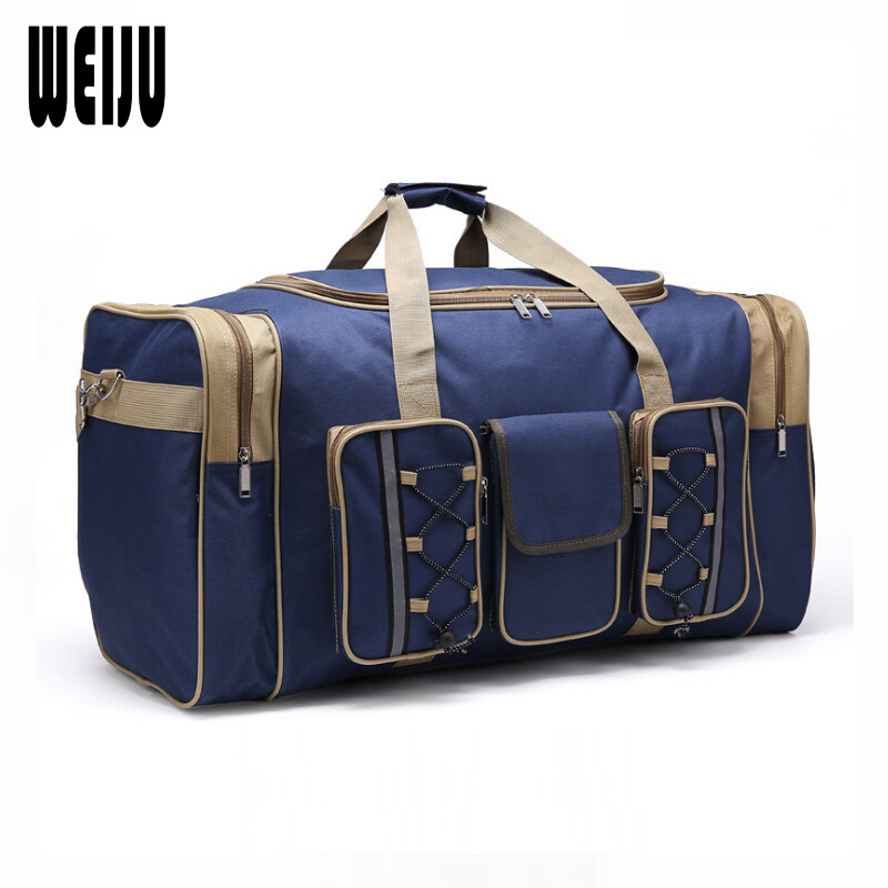 WEIJU 2017 Men Travel Bag Large Capacity Women Travel Luggage Duffle Bags Casual Shoulder Bag Handbag Mala Viagem YR0178 pro biker motorcycle saddle bag pattern luggage large capacity off road motorbike racing tool tail bags trip travel luggage