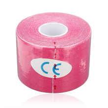 JHO-ELOS-1 Roll Muscles Care Fitness Athletic Health Tape 5M * 5CM – Rose Red