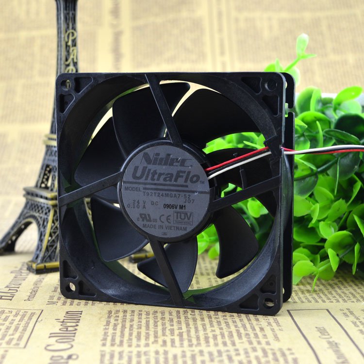 Free Delivery. 9025 T92T24MGA7-52 24 v 0.10 A inverter fan cover 2 years free delivery 109 e1324g101 dc 24 v 1 1 a third line 12 7 cm aluminum frame a cooling fan