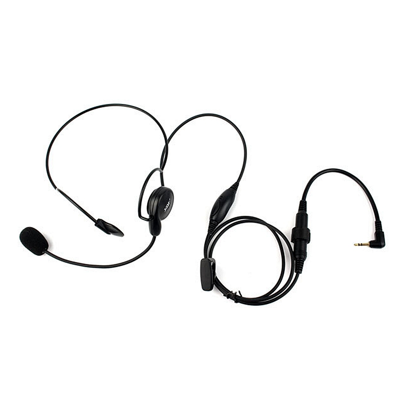 Advanced Unilateral Headphone Mic Neckband Earpiece Cycling Field Tactical Headset For Motorola Radio Cobra T6200 TKLR T3 T60