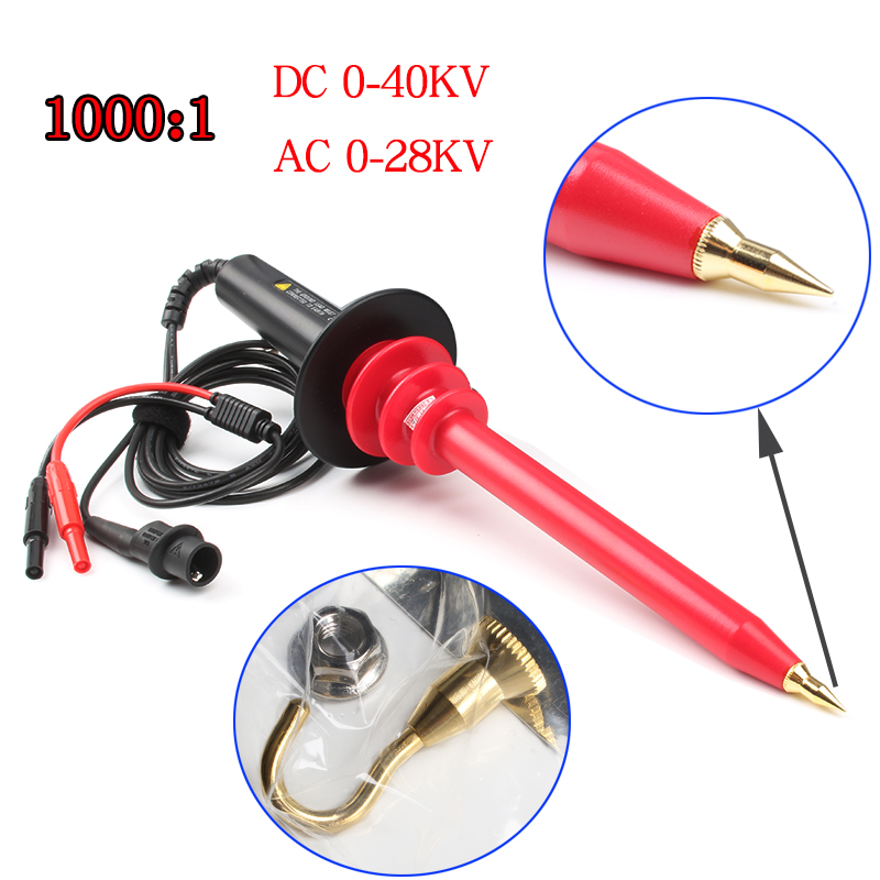 High Voltage probe 40KV DC 28KV AC 1000Mohm input 1000:1 free shipping ac dc high voltage remastered 180 gram