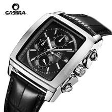 Marca relojes de lujo hombres 2016 de la moda de ocio los hombres de negocios de cuarzo reloj de pulsera impermeable relogio masculino CASIMA #5115