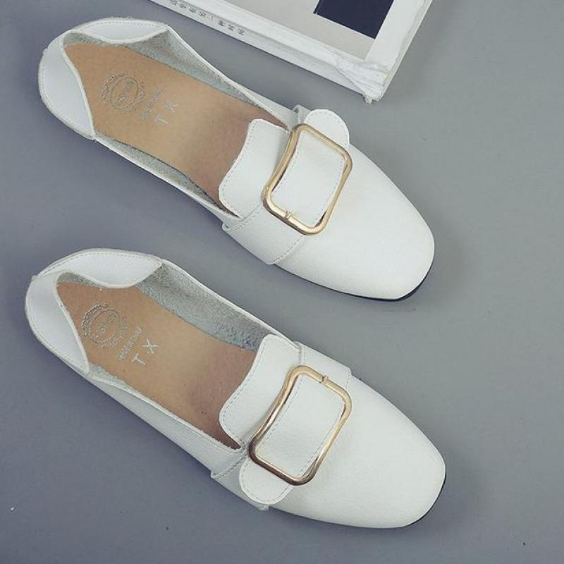 Fashion Women Flat Shoes Comfortable Ballet For Flats 2018 New Loafers Casual Driving Shoes Woman Slippers Hot Sale Lazy Flats hot sale 2018 new fashion lightweight breathable shoes leather flat women shoes comfortable classic style casual sneakers
