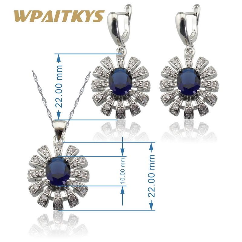 Срібні ювелірні набори 925 для жінок - Модні прикраси - фото 3