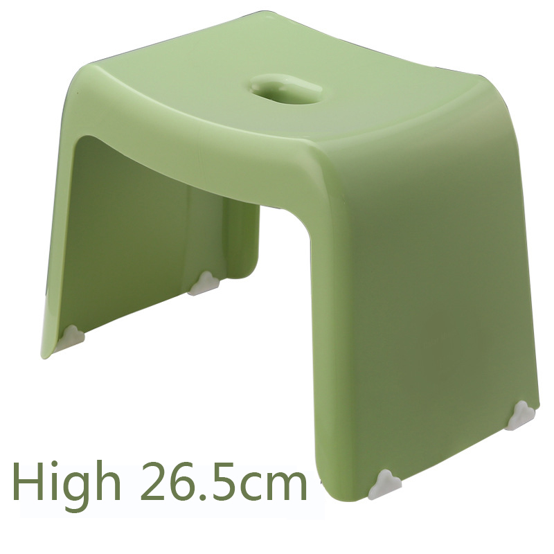 Phenomenal Plastic Stools Thickened Simple And Stylish Home High Stool Ncnpc Chair Design For Home Ncnpcorg