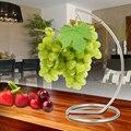 Japan style metal standing rack fruit shelf storage Holders Rack stainless steel hook Hanger flower pots or sundries home decor