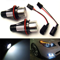 2 Pcs LED Angel Eyes Marcador para BMW E60 E61 520 520d 520i 523i 525d 525 525i