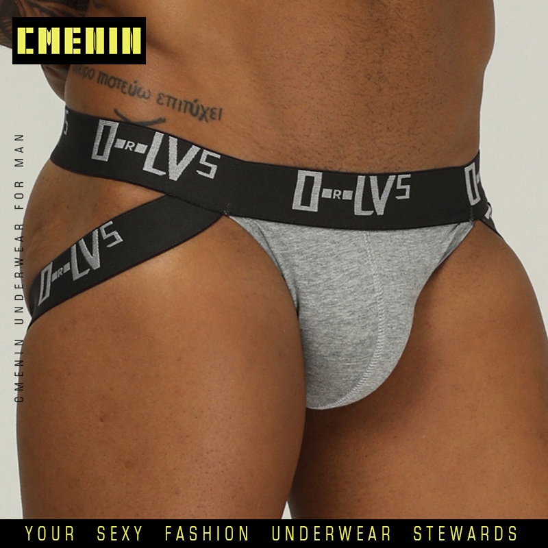 Sexy Men Underwear Jockstrap Briefs Cueca Male Panties G String And Thongs Sexy Gay Men Underwear Jocks Mesh Underpants OR211