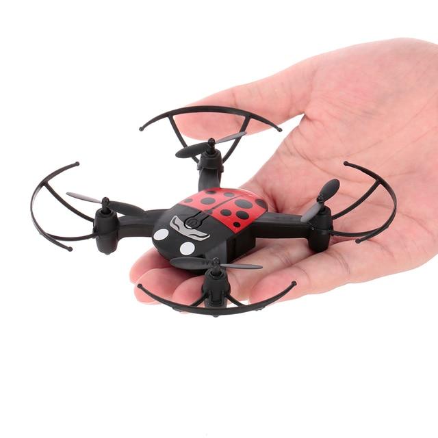 Mini Drone B1100 2.4G 4CH Dron Headless Mode One Key Return RC Quadcopter for Beginner Training vs IN1601 H37 E58 X12