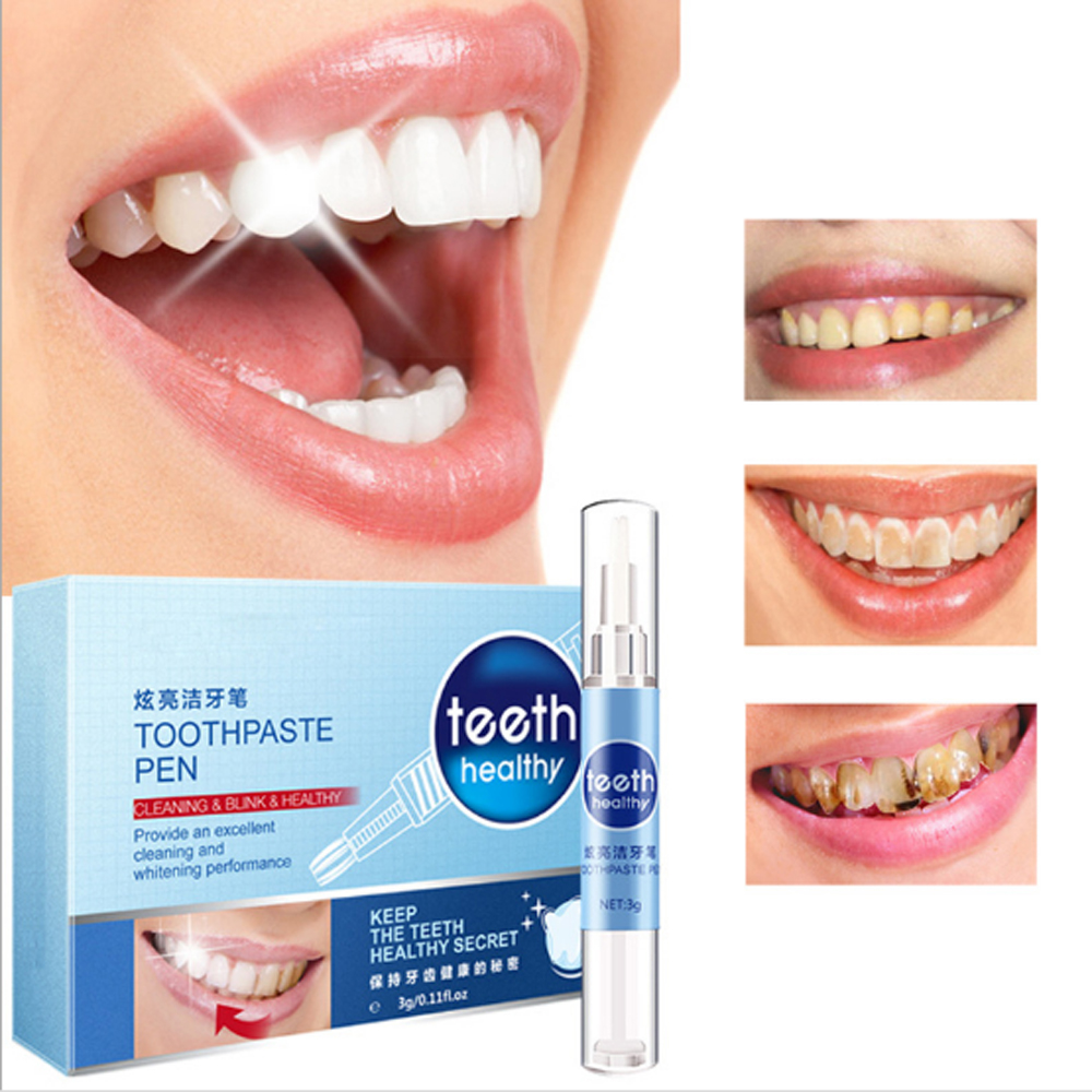 1pcs Creative Effective Teeth Whitening Pen Teeth Gel Bleaching