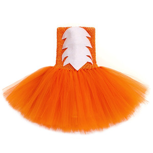 Image 4 - Cute Fox Tutu Dress Outfit Toddler Baby Girls Birthday Party Dress Crazy Animal Nick Halloween Carnival Cosplay Costume for Kids