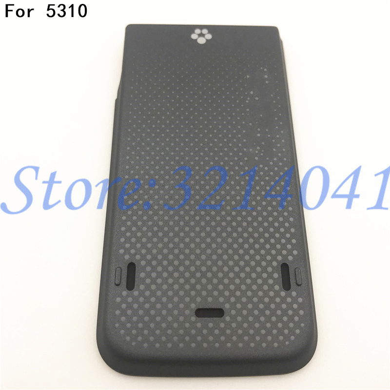 Original Back Plastic Battery Cover For <font><b>Nokia</b></font> <font><b>5310</b></font> Battery Back Door Cover <font><b>Case</b></font> Housing With Logo image