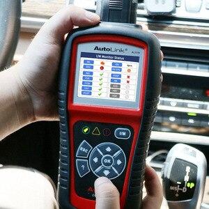 Image 2 - Autel oryginalny OBD2 narzędzie diagnostyczne do samochodów skaner samochodowy AL519 OBD 2 EOBD kod błędu czytnik urządzenia do skanowania Escaner Automotriz