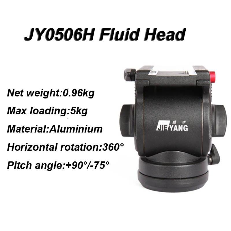 JY0506H Video Kamera Sönümleme Sıvı Tripod Başkanı Slider - Kamera ve Fotoğraf - Fotoğraf 2