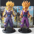 Anime Dragon Ball Z Son Gohan PVC Action Figure Estatueta Comic Cor Ver. modelo 23 cm