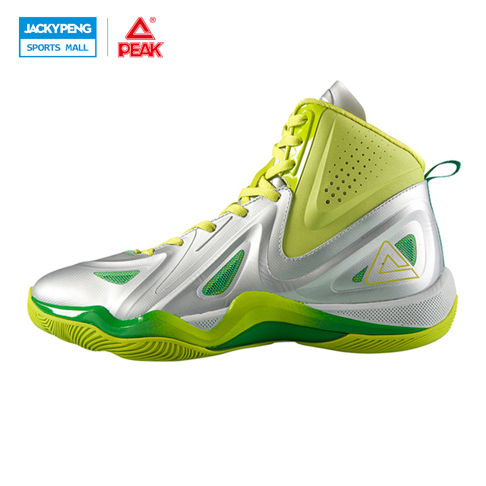 PEAK SPORT Challenger 2.2 Men Basketball Shoes Authent FOOTHOLD Tech Competitions Sneaker Breathable Athletic Training Boots peak sport monster ii men basketball shoes foothold tech sneakers breathable training athletic durable rubber outsole boots