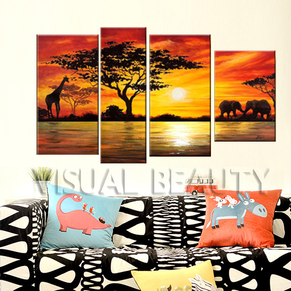 Gift High Quality Wall Decoration Picture of Beautiful Painting (Unframed)