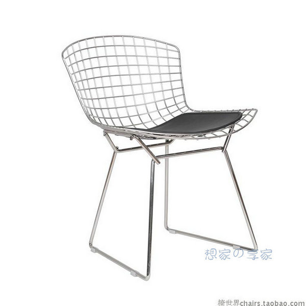 Eiffel Plated Metal Chairs Wire Chair Upscale Fashion Designer Chairs Mesh  Chairs Recreation Area