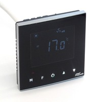 Touch LCD Display 3 Speed Fan Coil Units Thermostat With Cooling Heating
