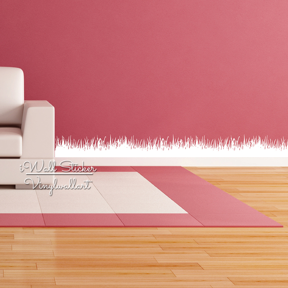 Popular Grass Border Wall DecalBuy Cheap Grass Border Wall Decal - Vinyl wall decals borders