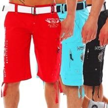 2019 Summer Fashion Mens Five Leisure Shorts Printed Hip Hop Streetwear Short Pants Casual Male