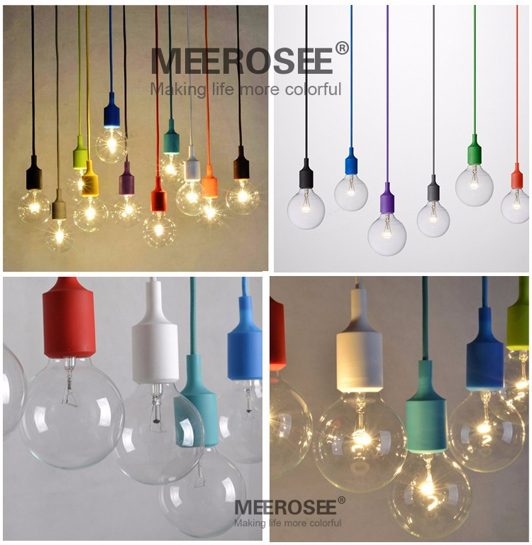 Colorful e27 socket pendant light suspension drop lamp modern colorful e27 socket pendant light suspension drop lamp modern vintage edison bulbs bar restaurant muuto bulbs not included in pendant lights from lights aloadofball Choice Image