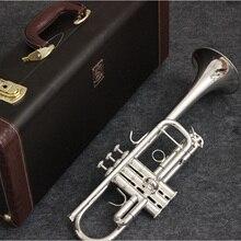 Музыка Fancier клуб C Труба AB-190S посеребренные Музыкальные инструменты профессиональные трубы в комплекте Чехол мундштук аксессуары