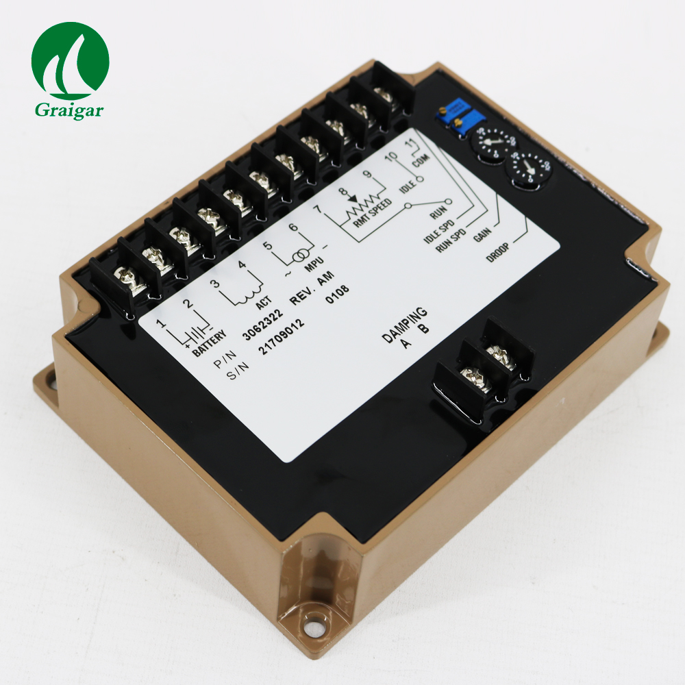 New Engine Governor Speed controller 3062322 Generator Speed Control unit generator speed controller 3098693