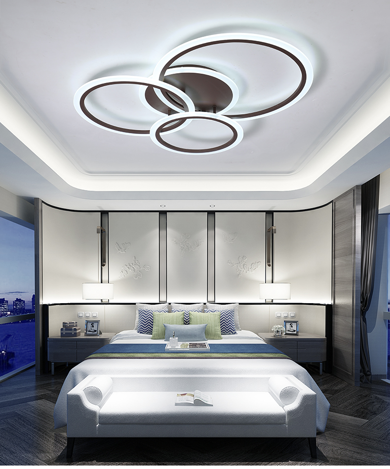 sala estar quarto cozinha branco & café