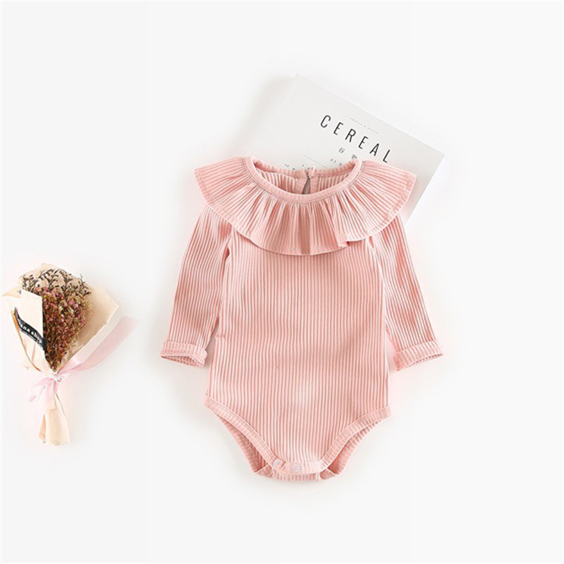 Baby Girl Romper 0-2Y Autumn Newborn Baby Clothes