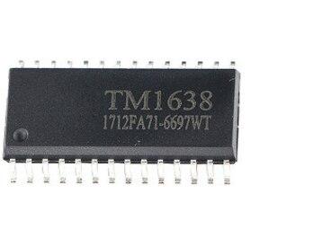 New Original TM1638 SOP28 LED Digital Tube Driver Chip