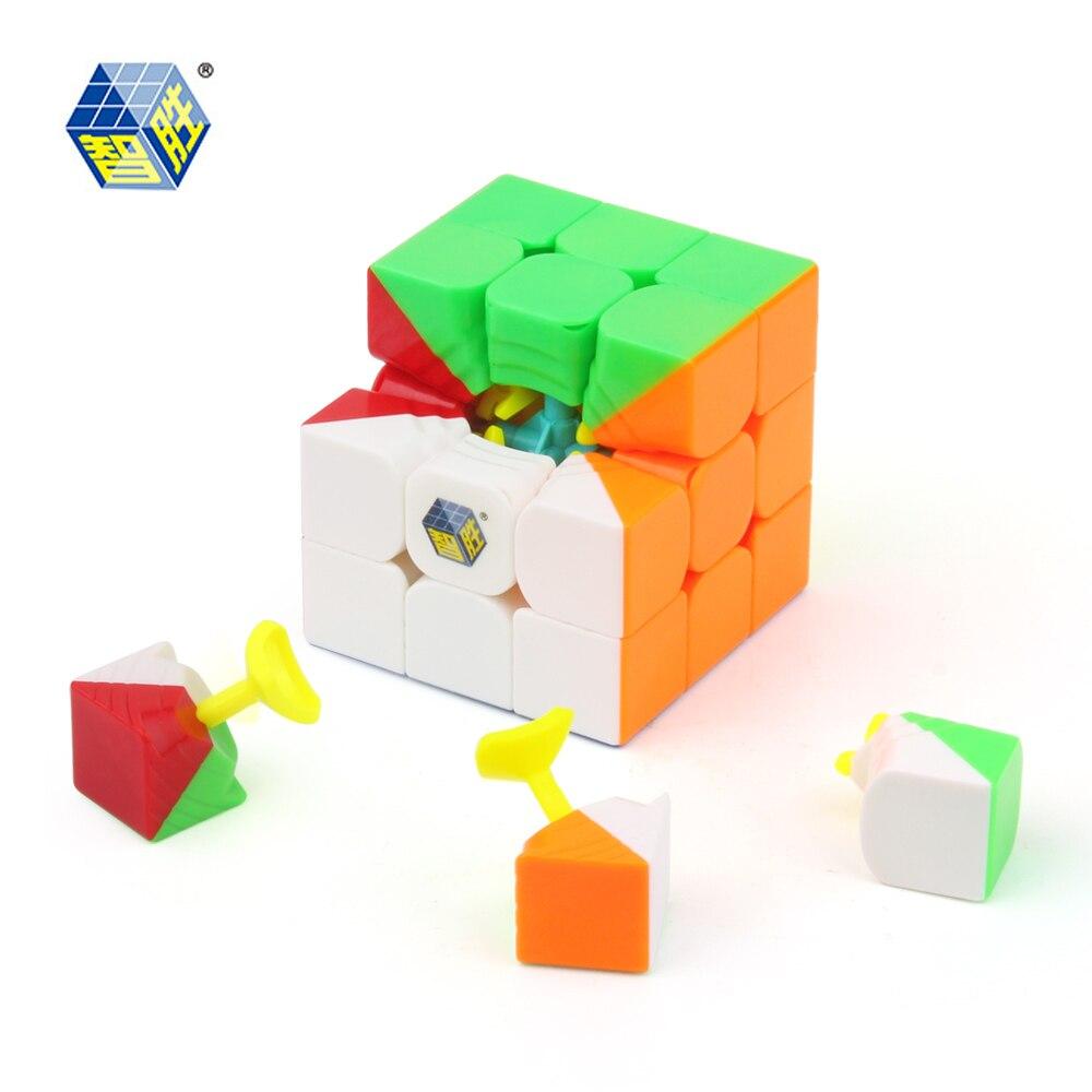 ZHISHENG YUXIN Peu de Magie Cube 3x3x3 Professionnel Vitesse Puzzle Cube Jouets Éducatifs Cadeaux