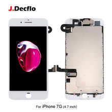 цена на For iPhone 7 7g LCD Display Touch Screen Digitizer Full Assembly Replacement with 3D Touch+Front Camera+Ear Speaker AAA Quality