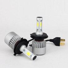 Factory Outlet car LED headlamp S2-9004 9007 lights headlights 9-36V led light