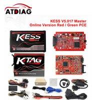 DHL livre Online Mestre V7.020 V2.23 Sem Limite de Token Ktag K Tag Vermelho 7.020 7020 Presentes ECM Programador ECU Winols