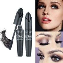 Eye makeup tool mascara Mascara waterproof silicone brush elongated thick curling mascara growth liquid makeup cosmetics недорго, оригинальная цена