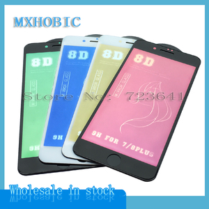 Image 3 - 10pcs 8D מראה מסך מגן מלא זכוכית עבור iPhone X XR XS מקסימום 9 שעתי מזג זכוכית עבור iPhone 8 7 6 6S בתוספת מגן סרט