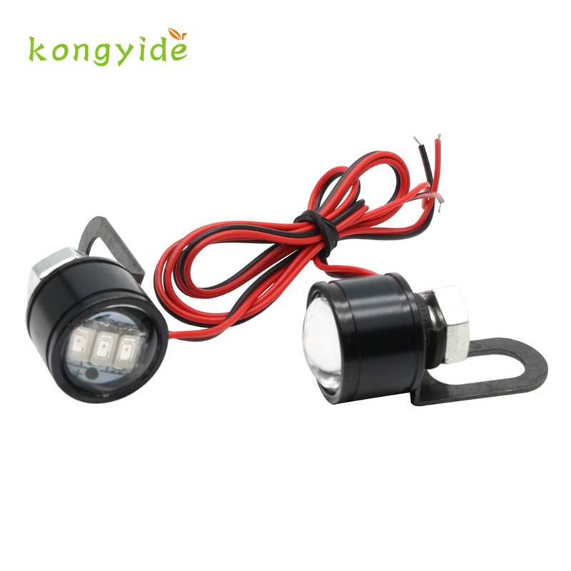 Motorcycle Eagle Eyedled Lights Modified Lamp Accessories LED Mirror Headlights gift hot new drop shipping gift 17june28
