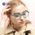 Женская Урожай Ретро Классический Основные Очки Óculos Де Грау Сверхлегкий TR Кадр очки с прозрачной линзой очки для чтения CL-7