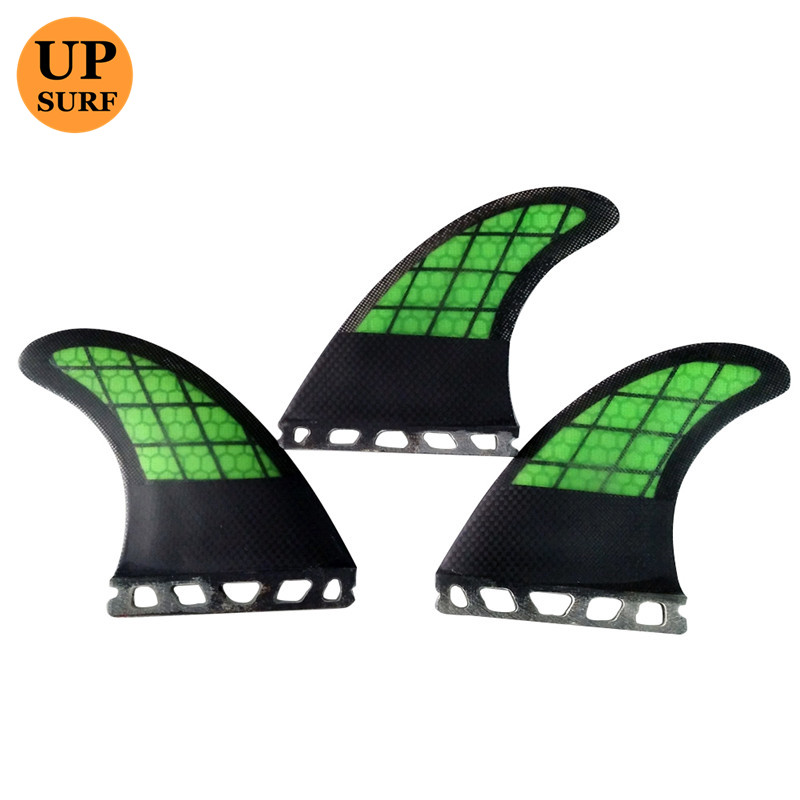 Surfing Wake Board Ny Design Futures G5 Fins Green Fiber Fins Carbon Surfboard Finder Honeycomb Future Fins