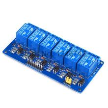 5PCS 6 Channel 24V Relay Module Low Level for SCM Household Appliance Control FREE SHIPPING For Arduino