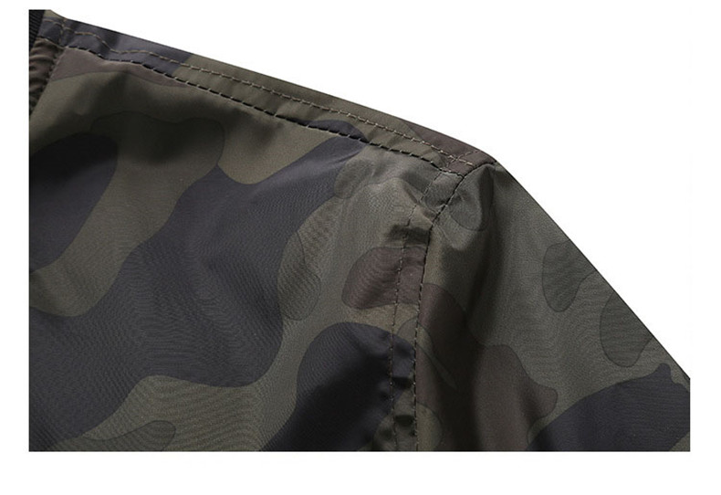 7XL Jackets Men 2019 Camouflage Jacket Male Coats Camo Bomber Mens Jacket Brand Cloth Outwear Baseball Collar Plus Size 5XL 6XL 13