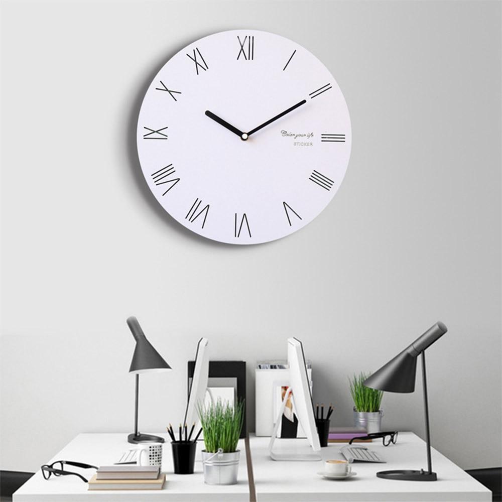 European Style Retro Wall Clock Creative Livingroom Restaurant ...