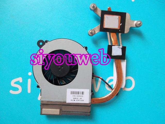 New cpu laptop cooling fan & dissipador de calor 606609-001 para hp compaq cq42 g42 cq62 g62 606609-001, frete grátis